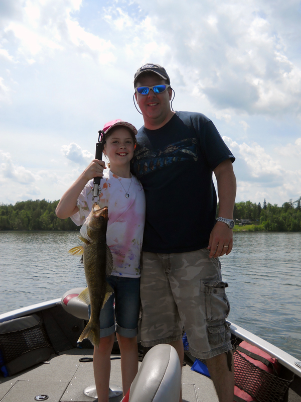 Jason Boser's fishing guide clients