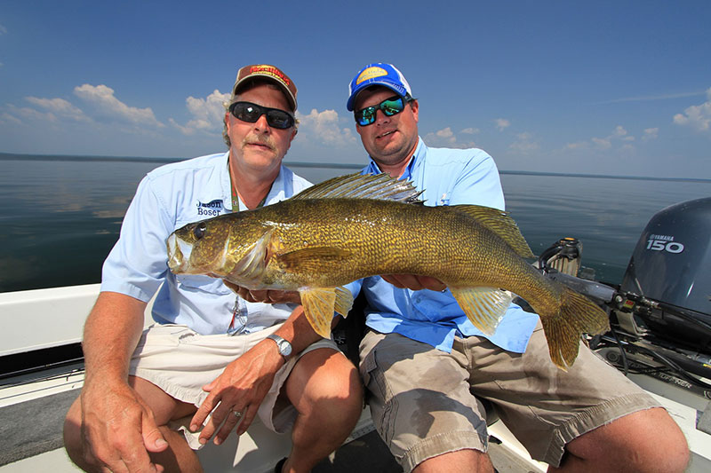 Your professional fishing guides for for Walleye fishing minnesota