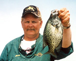 Charlie Worrath with Crappie