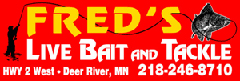 Fred's Bait and Tackle in Deer River, MN
